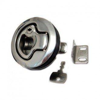 Tirador Empotrable Inox 316 con llave