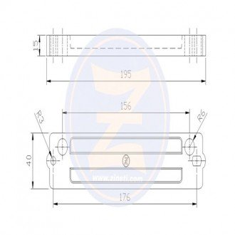 Anodo Zineti soporte motor Tohatsu