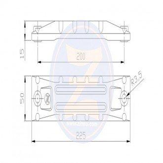 Anodo Zineti para soporte cola Honda