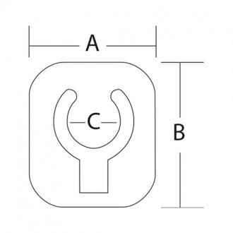 Clip plegable