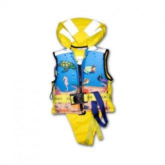 Chaleco salvavidas infantil 150N Amarillo
