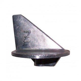 Anodo Zineti Aleta corta con rosca Mercury