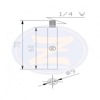 Anodo Zineti refrigeracion motor Caterpillar