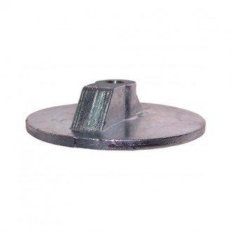 Anodo Zineti placa circular Mercury Alpha I