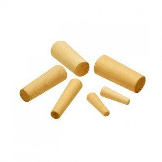 Espiches de madera conicos