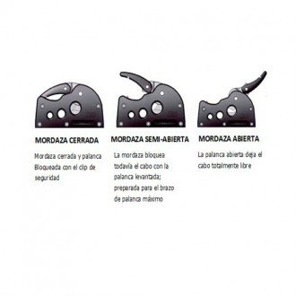 Mordaza Simple XR1 Holt Nautos