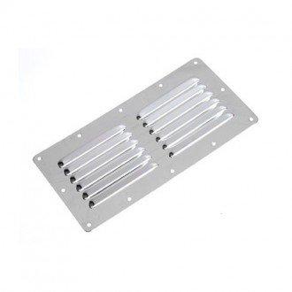 Rejilla Inox rectangular 230x115mm