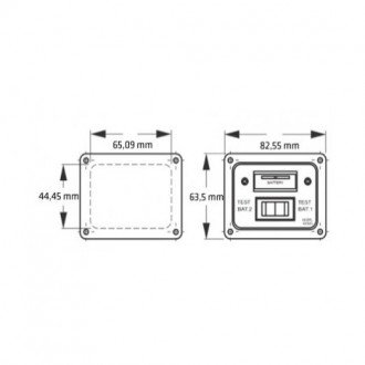 Panel control nivel 2 baterias