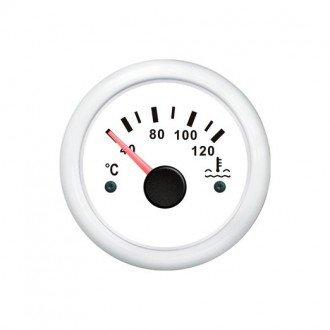 Indicador temperatura de agua blanco