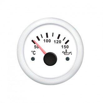 Indicador temperatura aceite blanco