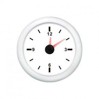 Indicador Reloj blanco