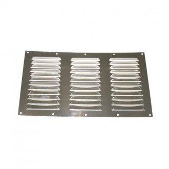 Rejilla de ventilacion inox 355x185mm