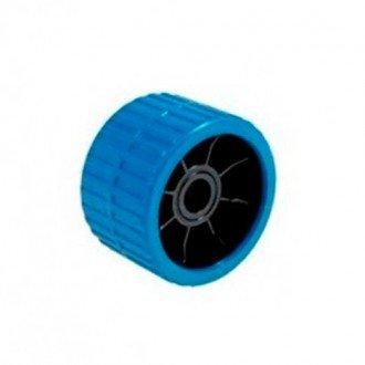 Rodillo lateral poliuretano azul