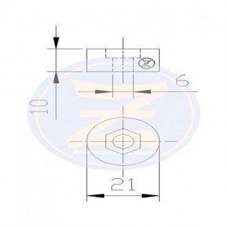 Anodo Zineti Circular Suzuki