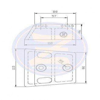 Anodo Zineti cola OMC-Cobra 130-385 HP