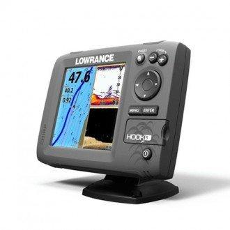 Lowrance Hook-5 Sonda GPS Plotter con transductor 50/200 + 455/800