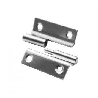 Bisagra inox 316 35x40 reversible