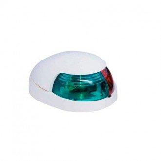 Luz navegacion bicolor montaje horizontal