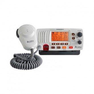 Emisora VHF Fija Cobra MR F57B Blanco