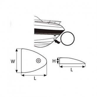Tapa de ventilacion lateral