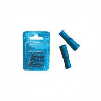 Terminal aislado hembra cilindrico (blister 10 pcs)