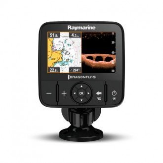 Sonda GPS/Plotter Raymarine Dragonfly 5 PRO con cartografia