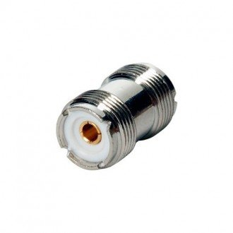 Conector doble hembra VHF PL 258