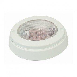 Luz LED ovalada