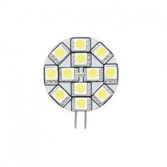 Bombilla G4 12 LEDs conexion lateral