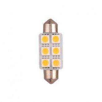 Bombilla Festoon 6 LEDs