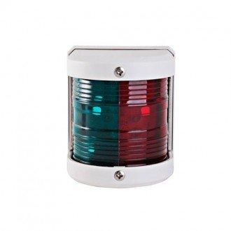 Luz Bicolor LED carcasa blanca