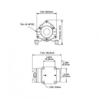 Bomba de agua a presion Seaflo 7 LPM