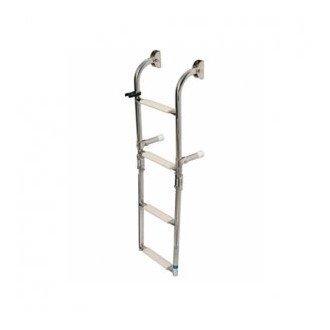 Escalera Plegable Inox 5 peldaños