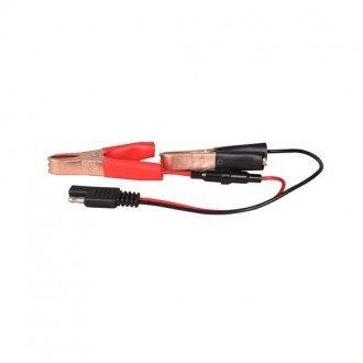 Conector Seaflo con pinzas bateria