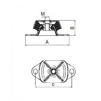 Soporte Motor Antivibraciones