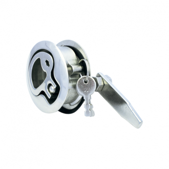 Cierre Empotrable Inox 316 con llave