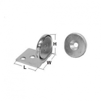 Sujetapuertas Magnetico Inox