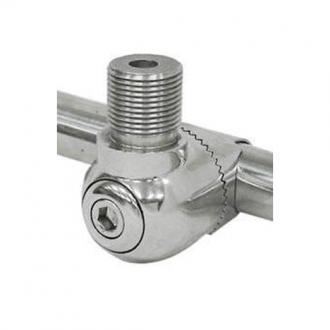 Soporte Antena Inox 316 para Pasamanos 22-25 mm