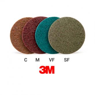 Discos Abrasivos de Velcro 3M