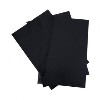 Parche de PVC 30x30cm Negro