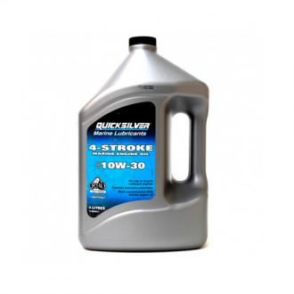 Aceite Quicksilver 4 Tiempos 10W-30 de 4 Litros
