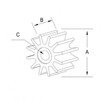 Turbina Mercury Quicksilver 161541