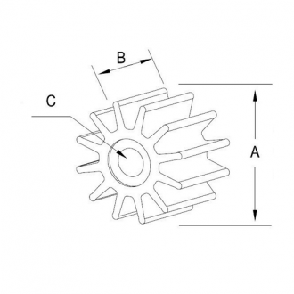 Turbina Mercury Quicksilver 161543