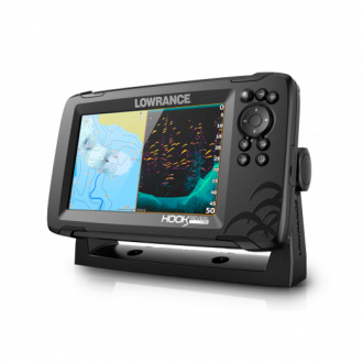 Sonda GPS/Plotter Lowrance HOOK Reveal 7 HDI 50/200