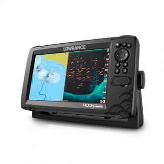 Sonda GPS/Plotter Lowrance HOOK Reveal 9 HDI 50/200