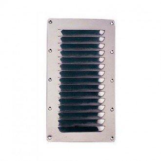 Rejilla de ventilacion inox