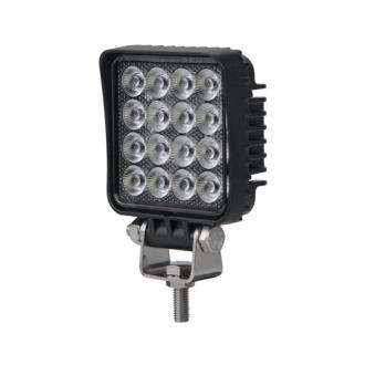 Foco LED Cuadrado 1400 Lumenes C/Interruptor