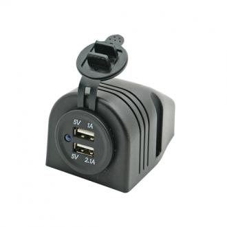 Conector Doble USB Superficie