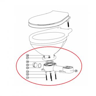 Base para Inodoro Manual LT