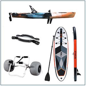 Kayaks y Paddle Surf